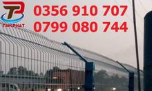 Hàng rào sơn tĩnh điện, hàng rào mạ kẽm giá tốt