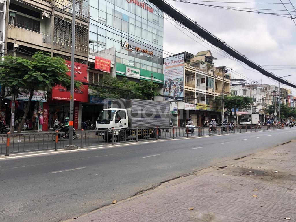 Bán nhà mặt tiền 527a Lý Thường Kiệt, P8, Q. Tân Bình. 4x25m, 3 tấm.