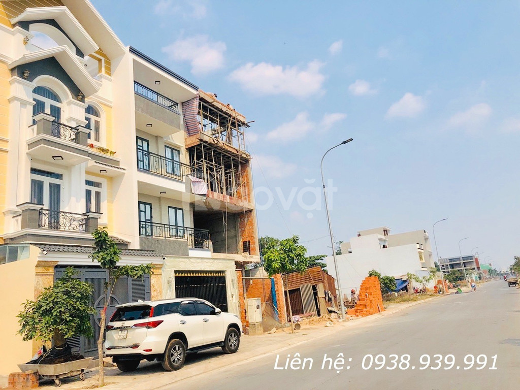 Bán đất thổ cư 100% liền kề khu thương mại Aeon Mall Bình Tân