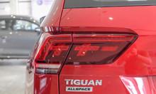 Bán xe Volkswagen Tiguan Luxury màu cam, nhập khẩu nguyên chiếc Đức