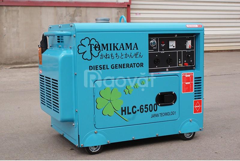 Giới thiệu nơi bán máy phát điện chạy dầu diesel Tomikama 6500