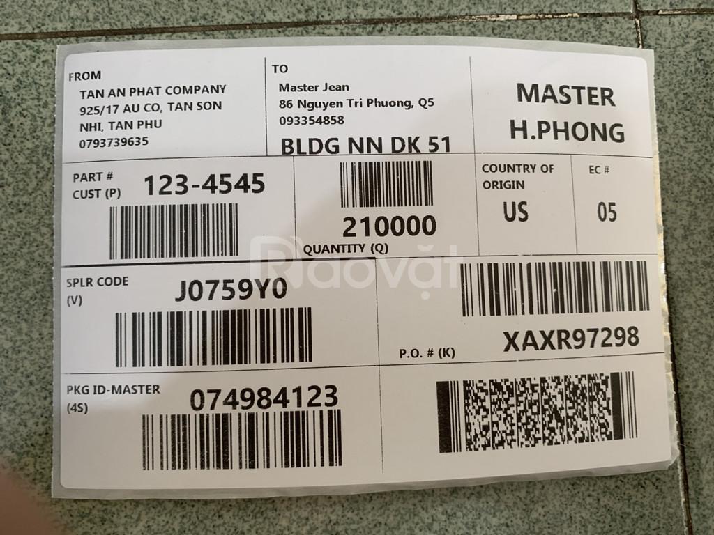 Thanh lý máy in mã vận đơn cho sendo, tiki....tại BMT giá rẻ