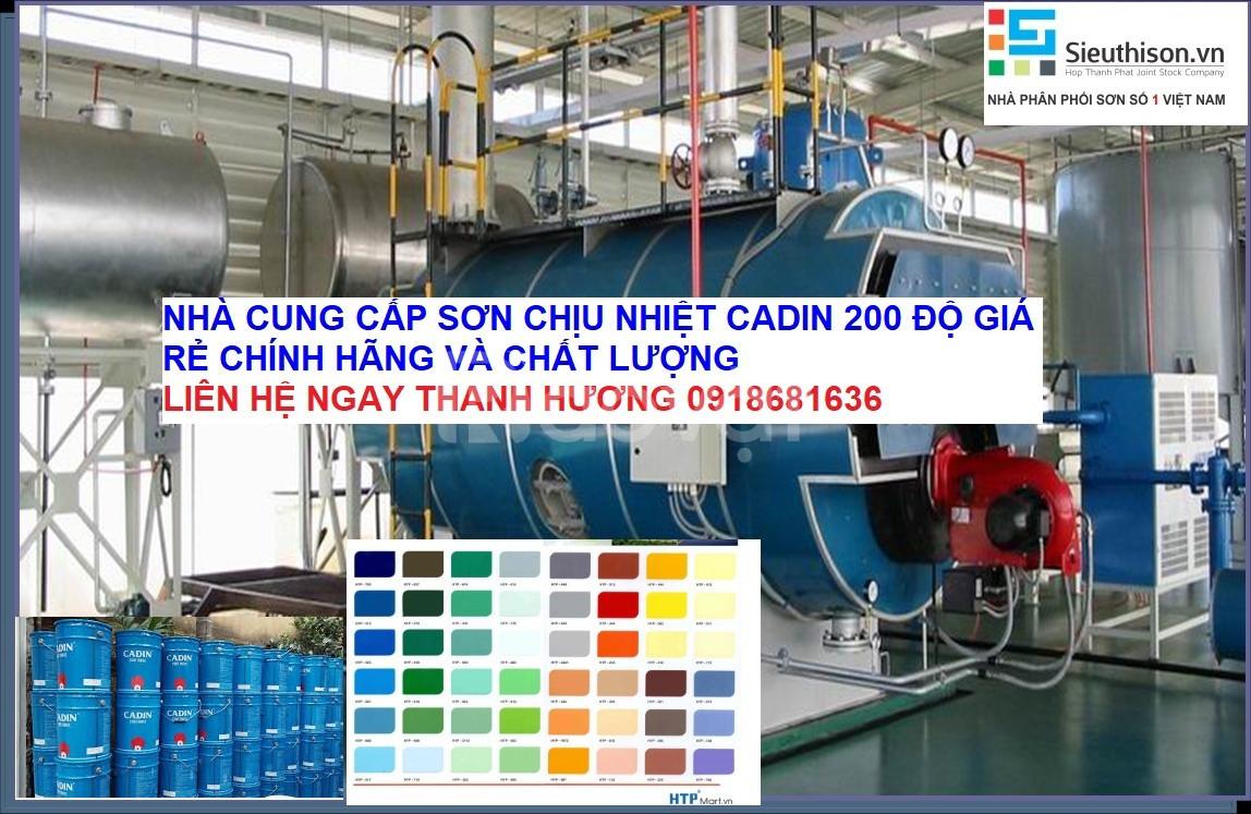 Nơi bán sơn chịu nhiệt 200 độ cadin màu nhũ bạc tại Long An (ảnh 1)