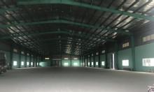 Cho thuê kho xưởng DT 2700m2, 4000m2 7000m2 tại KCN Yên Phong