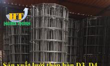 Lưới thép hàn mạ kẽm D4 a50x50, D3 a50x50