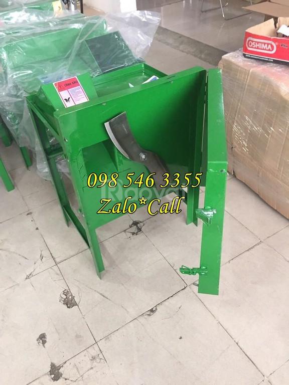 Máy băm cỏ voi, rau, lục bình động cơ 1.5 HP giá rẻ tại Bắc Ninh