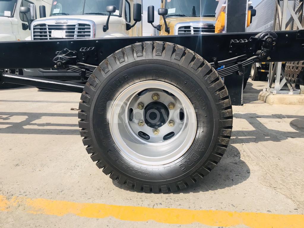 Giá xe tải 7 tấn +thùng dài | Faw 7.3 tấn | faw 7t3 bình dương