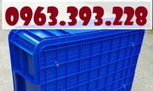 Thùng nhựa đặc cao 19, thùng nhựa công nghiệp, hộp nhựa có nắp