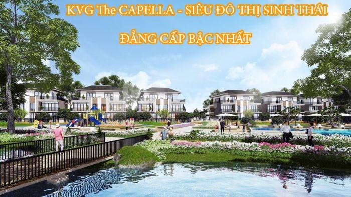 Khu đô thị đẳng cấp bậc nhất KVG The Capella Nha Trang
