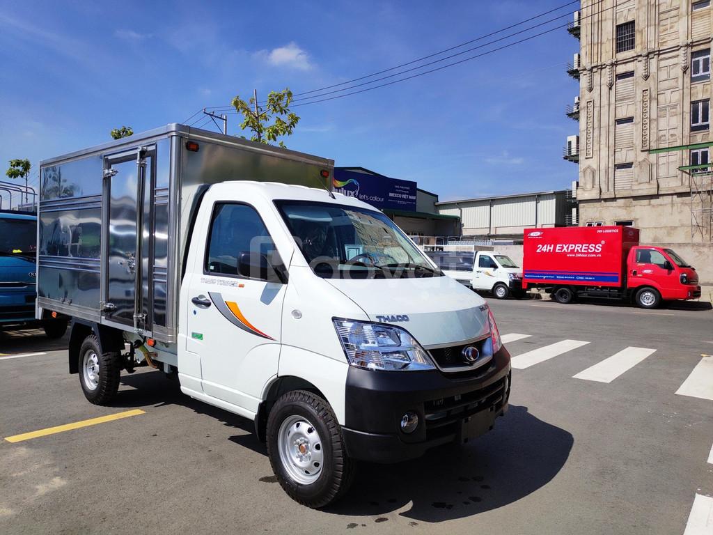 Thaco Towner 990kg khuyến mãi 100% phí trước bạ tháng 4/2020