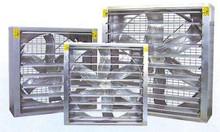 Quạt hút công nghiệp thân vuông sử dụng trong ngành công nghiệp may mặ