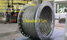 Ống mềm giảm rung mặt bích, khớp nối mềm inox sus304, ống nhún inox