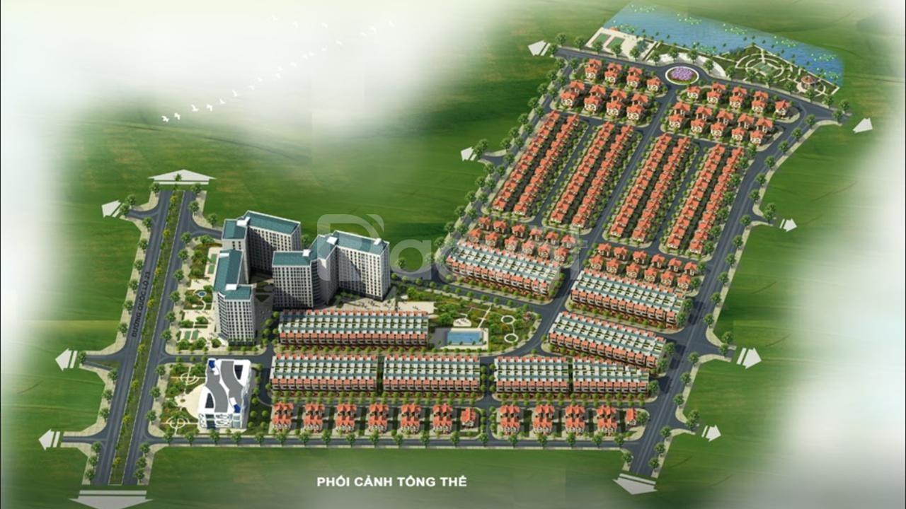 Biệt thự liền kề Mê Linh Vista City - Khu đô thị Minh Đức