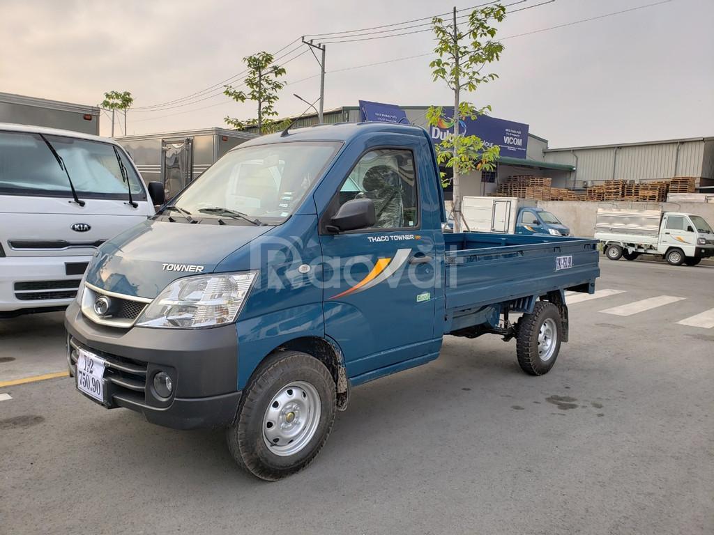 Xe tải 990kg Thaco Towner khuyến mãi 100% trước bạ tháng 4/2020