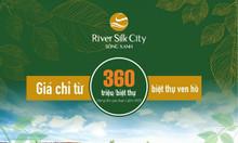 Bán gấp nền liền kề River Silk kinh doanh tốt