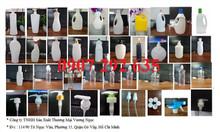 Chai nhựa HDPE, chai PET