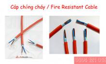 Cáp chống cháy 2 x 2.5 SQMM. Tiêu chuẩn IEC 60331
