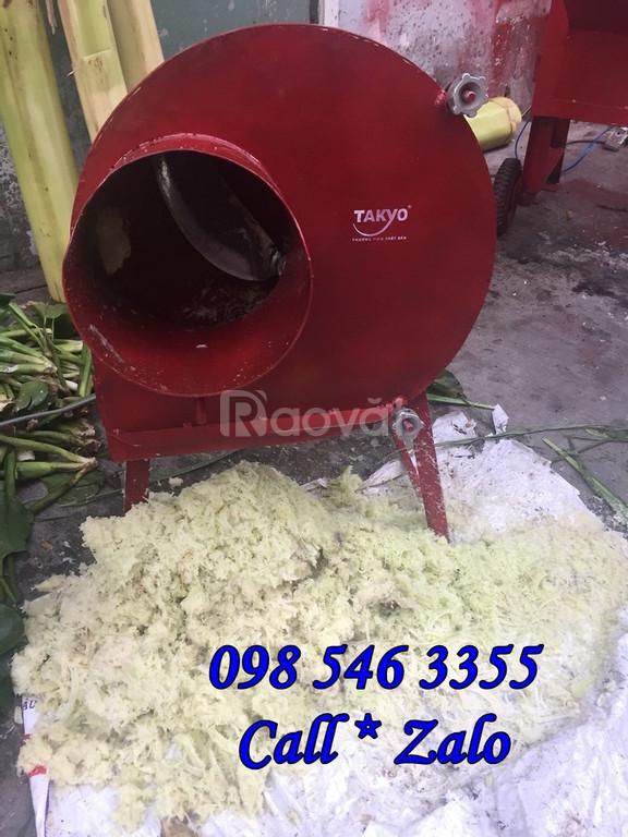 Giảm giá máy băm chuối, băm cỏ voi nghiêng Takyo TK 20 động cơ 2hp