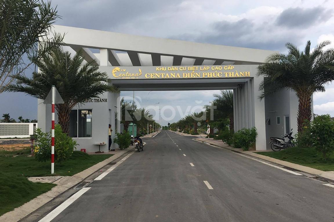 Bán đất khu dân cư Centana Trường Lưu