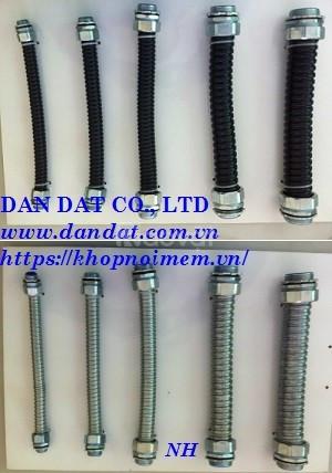 Bộ ống luồn dây điện, ống ruột gà và lưới bện inox, ống bọc dây điện