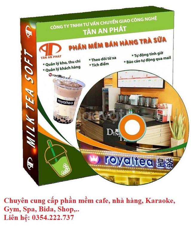 Phần mềm bán hàng tại Phan Thiết giá rẻ cho quán café