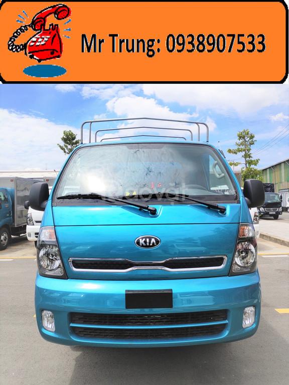 Xe tải Kia 2.49 tấn K250 thùng mui bạt mở 5 bửng