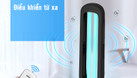 Đèn UV diệt khuẩn 36W, khử trùng phòng, đồ vật (ảnh 3)