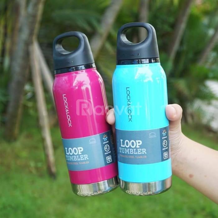 Bình giữ nhiệt Lock & Lock Loop Tumbler in logo giá rẻ.
