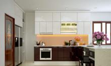 Đóng tủ bếp nhà chung cư hiện đại