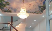 Bán nhà TT Nhà Bè cách cầu Phú Xuân 2km, 4.2x13, 1tr/1lầu