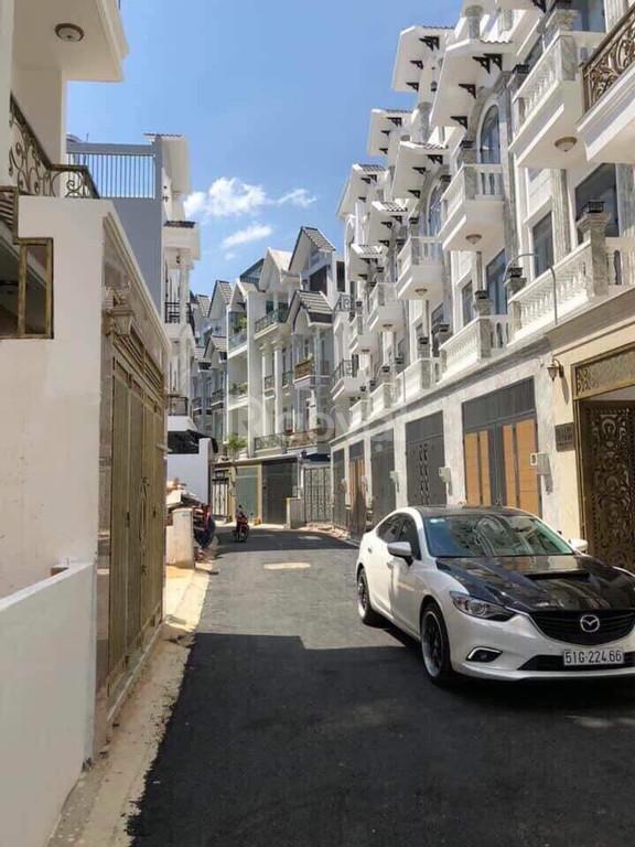 Nhà phố đồng bộ khu dân cư Phạm Văn Chiêu Gò Vấp