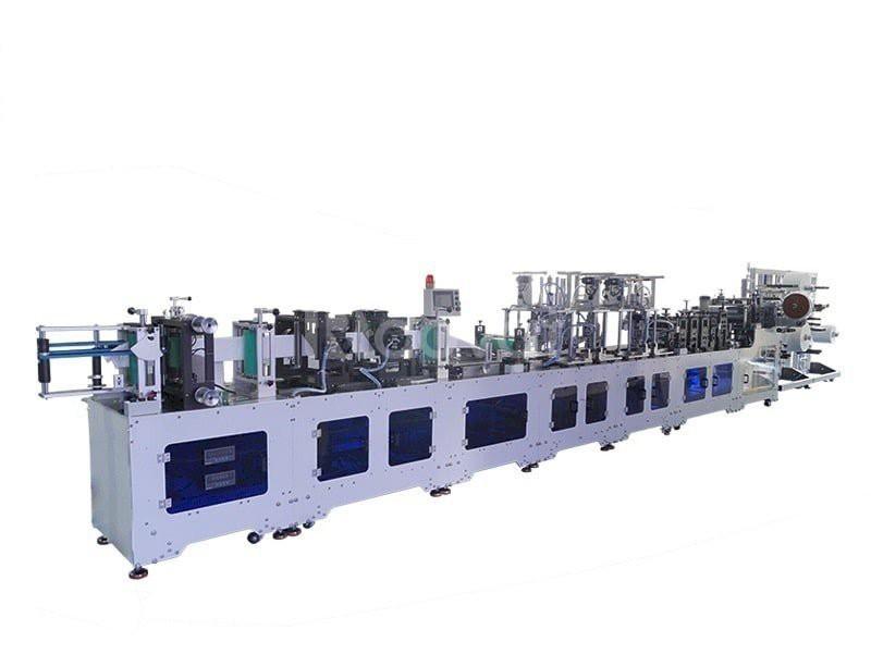 Máy sản xuất tự động 100% khẩu trang y tế cho mùa dịch