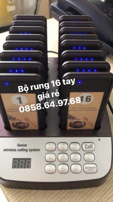 Chuyên cung cấp bộ rung tự phục vụ 16 tay cầm giá rẻ tại bmt