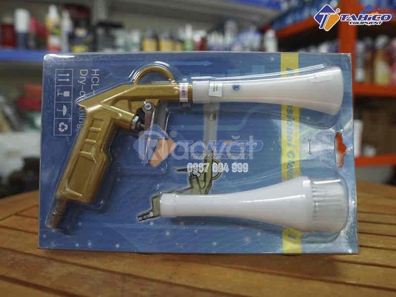 Combo súng dọn khoang máy – súng dọn nội thất – bình xịt cầm tay