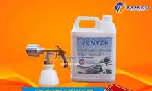 Combo súng phun bọt tuyết – dung dịch rửa xe bọt tuyết Ventek 5 lít