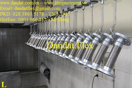 Khớp nối mềm chống rung cao su, khớp nối mềm cao su, ống mềm inox