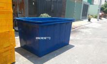 Bồn nhựa chữ nhật 2000 lít | tank nhựa 2000 lít.