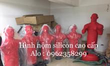 Trụ đấm silicon tập võ