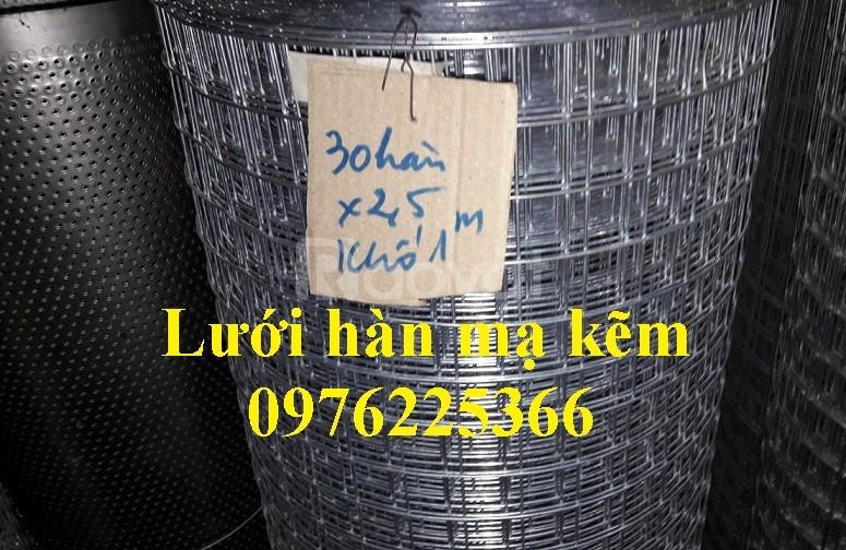 Lưới thép, lưới hàn ô vuông mạ kẽm, lưới thép mạ kẽm tại Hà Nội