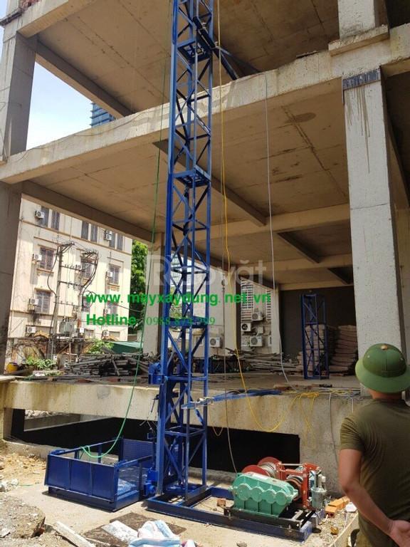 Xưởng sản xuất vận thăng nâng hàng xây dựng tại Hà Nội