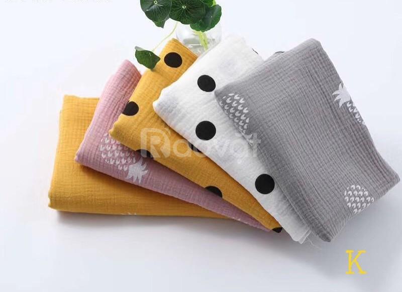 Cung cấp vải sản xuất đồ sơ sinh, trẻ em