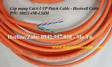 Cáp mạng mềm thang máy Cat.6 Patch cable, vỏ LSZH màu cam - Hosiwell