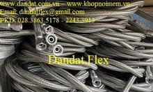 Ống mềm công nghiệp dẫn xăng dầu, khớp nối mềm bằng inox, khớp nối 304