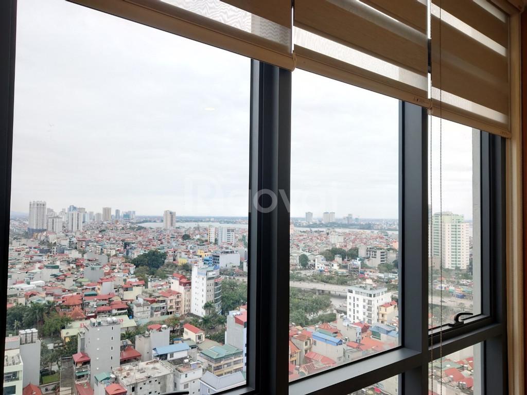 Bán căn góc 87,5m2/3PN view Hồ Tây chung cư Tràng An complex, tầng