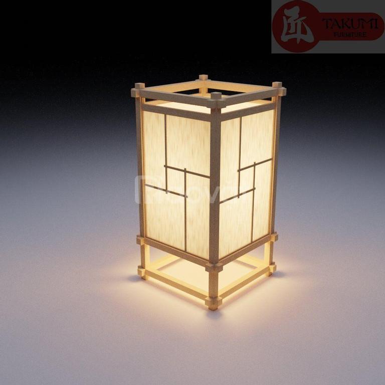 Đèn trang trí bằng gỗ - Món đồ trang trí độc lạ mang phong cách Nhật