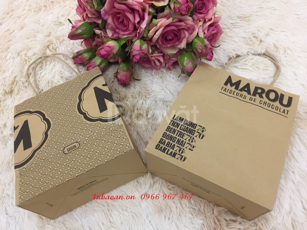 In túi giấy thời trang, sale in túi giấy, khuyến mại mác giấy