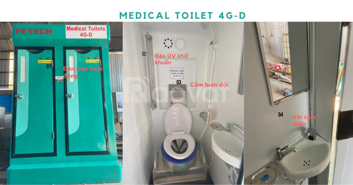 Chuyên nhà vệ sinh, nhà vệ sinh y tế chống dịch nhà vệ sinh di động