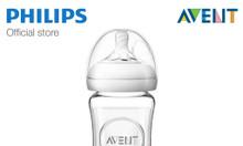 Bình sữa thuỷ tinh cao cấp Philips Avent mô phỏng tự nhiên