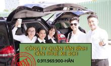 Cần thuê xe 4 chỗ, ký hợp đồng trực tiếp với công ty