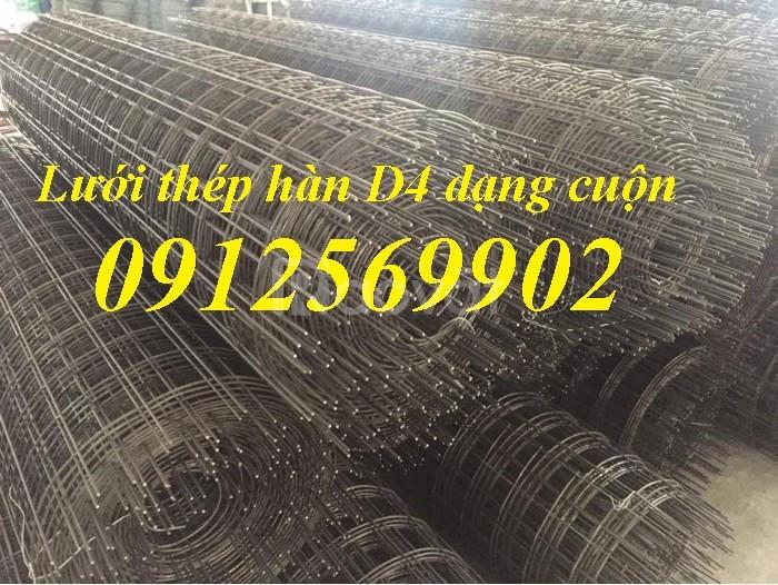 Lưới thép hàn đổ sàn D4, D5, d6, D8 a200x200
